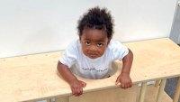 Kaavia James Union Wade Stuck in Furniture Instagram