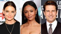 Katie Holmes Follows Thandie Newton on Instagram After Her Comments About Working With Tom Cruise