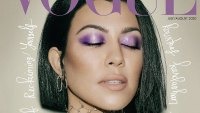Kourtney Kardashian Rocks a Blunt Bob on 'Vogue Arabia' Cover