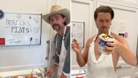 Patrick Schwarzenegger pint ice cream reviews