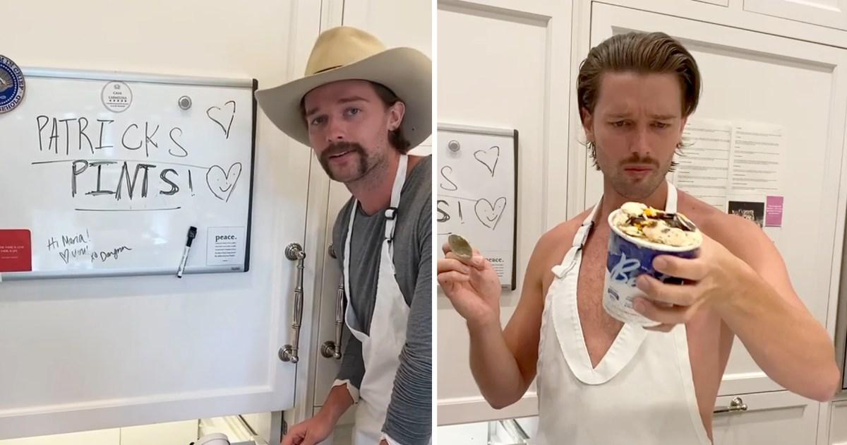 Patrick Schwarzenegger Shares His Hilariously Honest Ice Cream Reviews