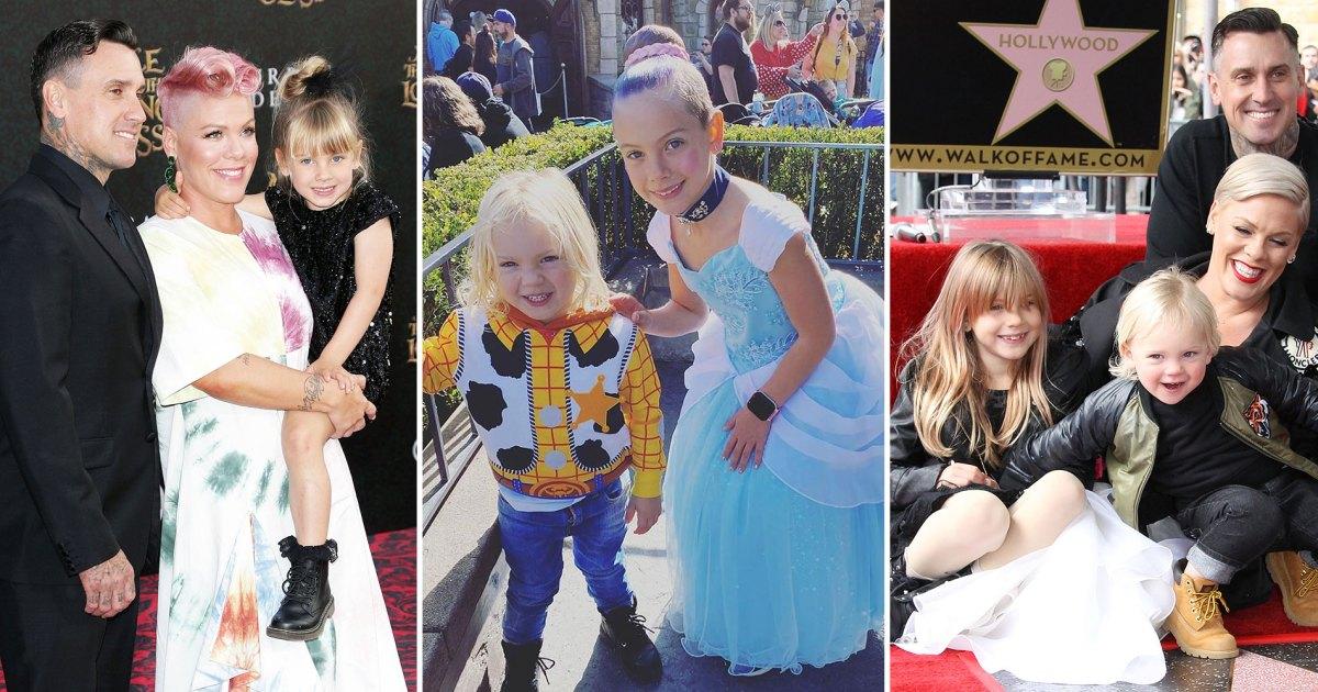Album de famille de Pink et Carey Hart: photos avec des enfants
