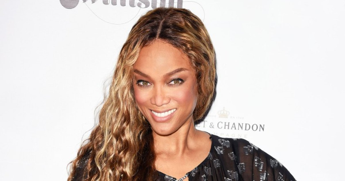 Tyra Banks Shares Her Tips for Smizing in a Protective Face Mask