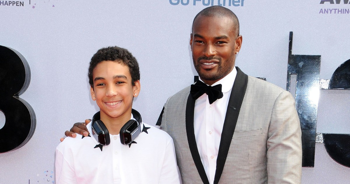 Tyson Beckford Talks Coparenting With Son Jordan's 'Incredible Mom'