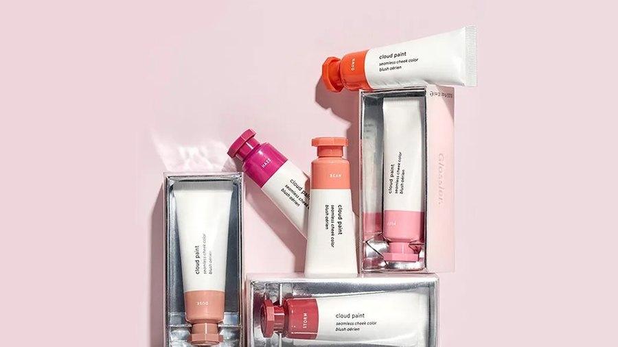 glossier cloud paint best dupes makeup skincare