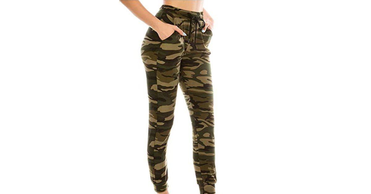 These Camo Joggers Will Be Your New Favorite Sweats