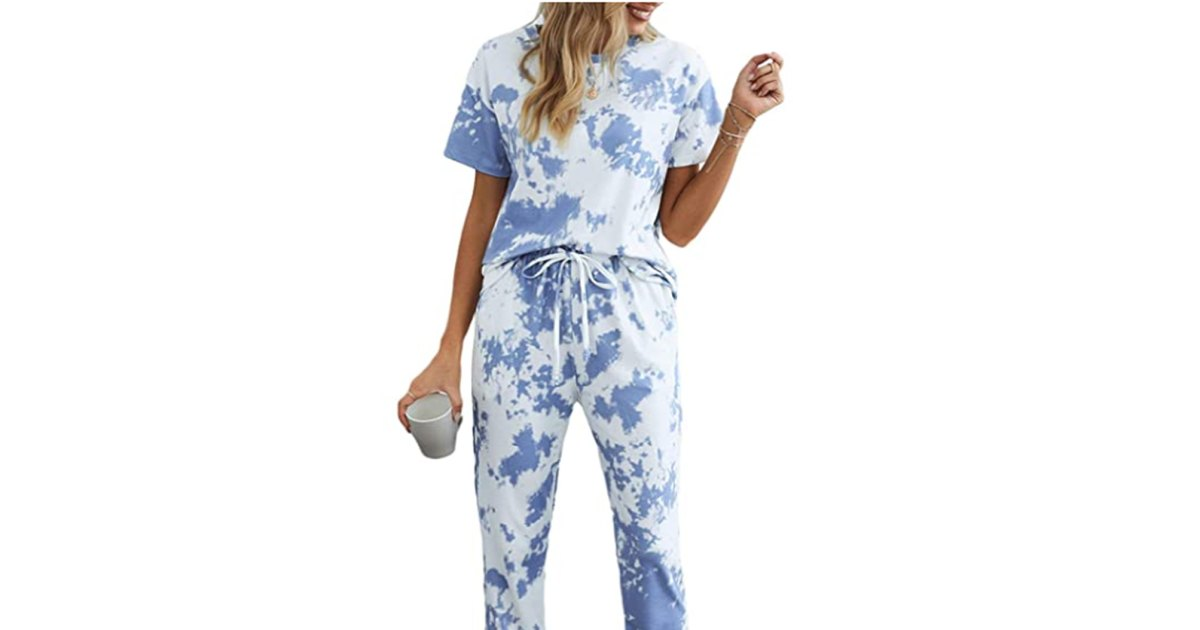 These Trendy Tie-Dye Pajamas Are Made for Snapping So Many Selfies