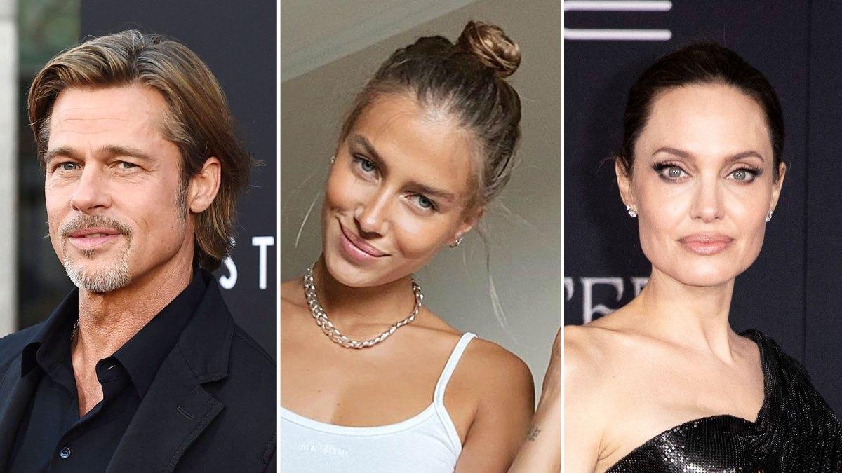 Brad Pitt Dating Model Nicole Poturalski Amid Angelina Jolie Divorce