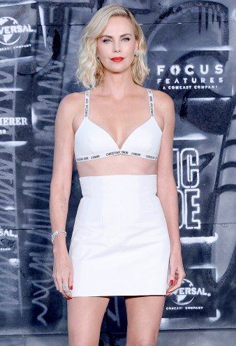 Charlize Theron All-Time Best Fashion Moments Atomic Blonde 2017