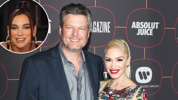 Gwen Stefani Corrects Dua Lipa After She Mistakenly Calls Blake Shelton Her Husband