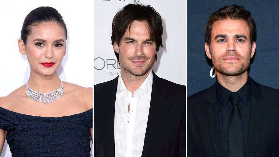 Nina Dobrev Jokes About Who She'd Choose Between Ex Ian Somerhalder and Paul Wesley