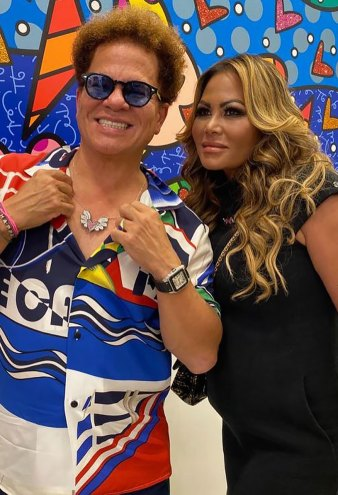 Romero Britto and Orianne Collins Unveil 2 Exclusive Jewelry Lines