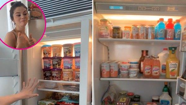 Selena Gomez Shares a Peek Inside Her Refrigerator and Freezer