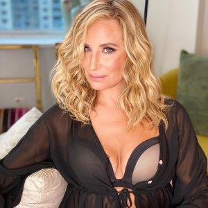 Sonja Morgan Sizzles in This Full Lingerie Ensemble