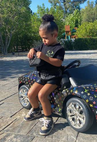 Stormi Continues to Prove She's the Most Stylish Toddler Around