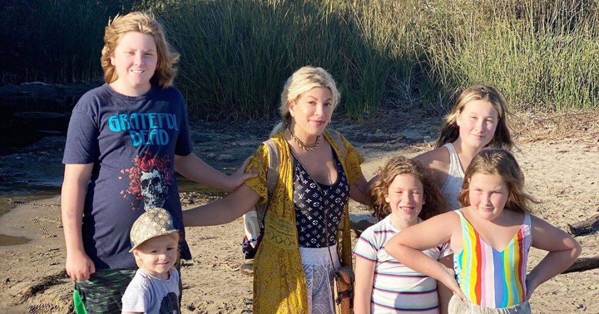 Loving Life! See Tori Spelling's Cutest Family Photos