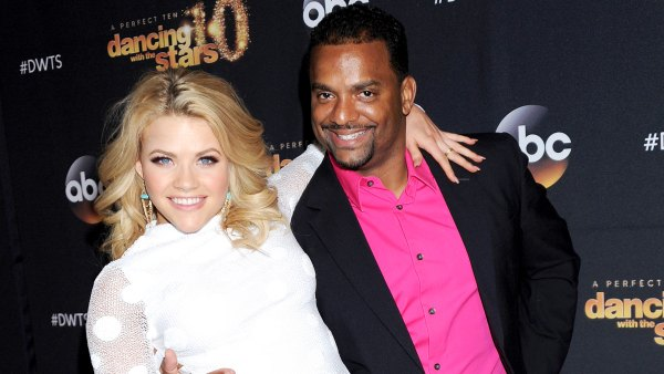 Witney Carson Thought Alfonso Ribeiro Would Be the New DWTS Host