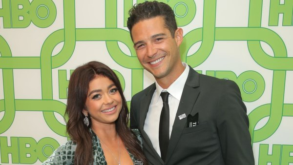 Sarah Hyland and Wells Adams Celebrate Their Postponed Wedding Day