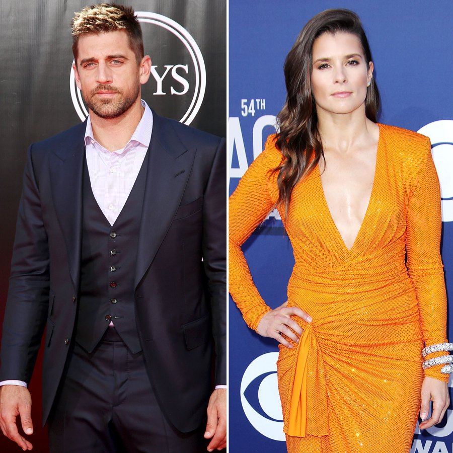 Aaron Rodgers Says Hes Better Head Space After Danica Patrick Split
