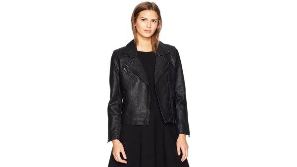 BLANK NYC Women's Moto Jacket