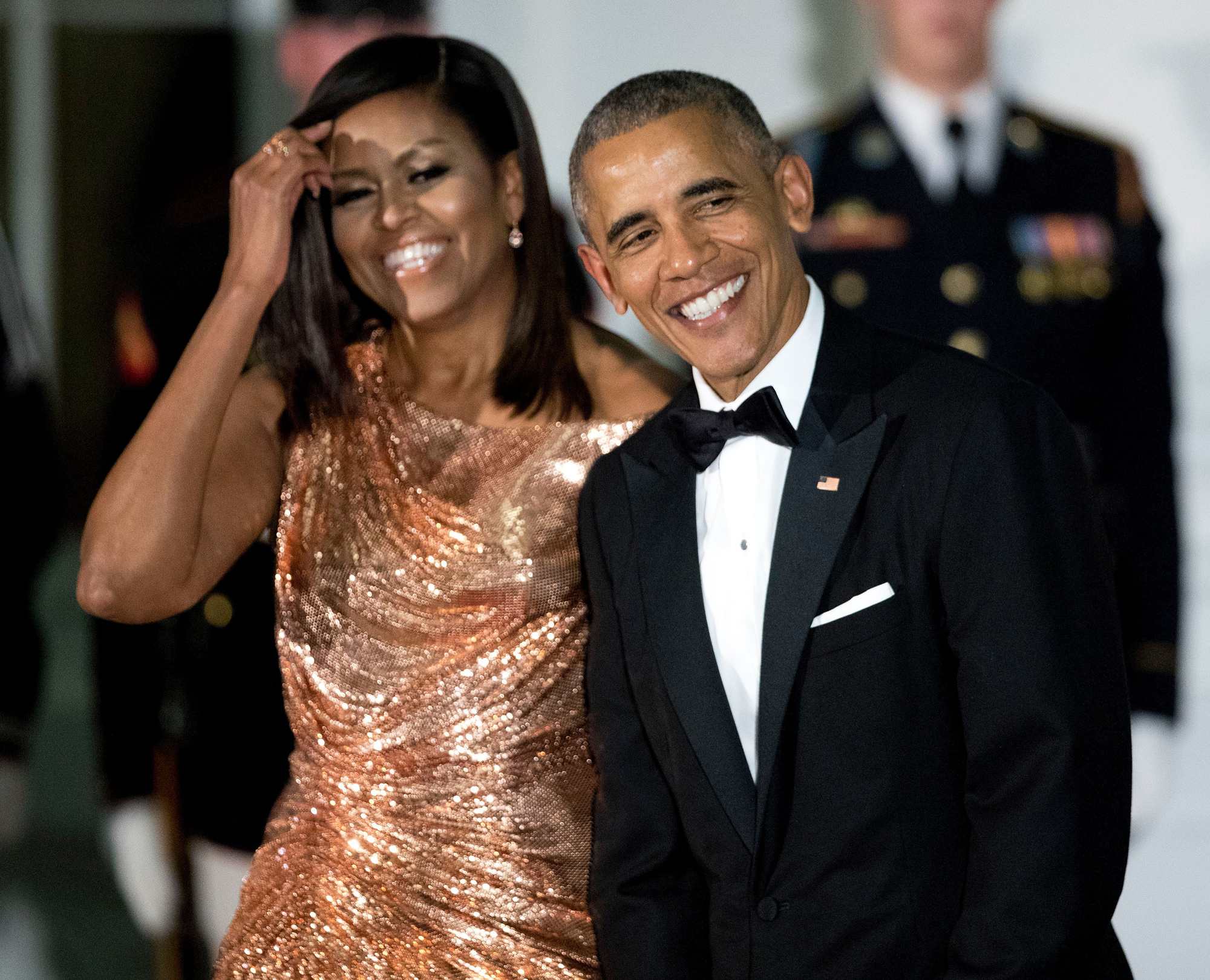 Barack Obama Wishes 'Love of My Life' Michelle a Happy 28th Anniversary