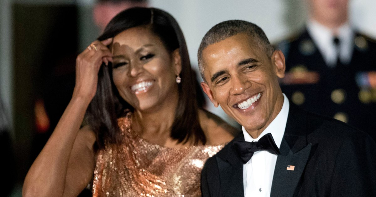 Barack Obama Wishes 'Love of My Life' Michelle a Happy 28th Anniversary 1