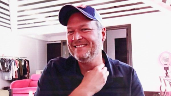 Blake Shelton visiting The Ellen DeGeneres Show via Zoom Blake Shelton Says He Is Trying to Lose Weight After Joking He Gained 117 Pounds During Quarantine