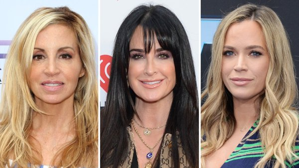 Kyle Richards and Camille Grammer Feud Over Teddi Mellencamp