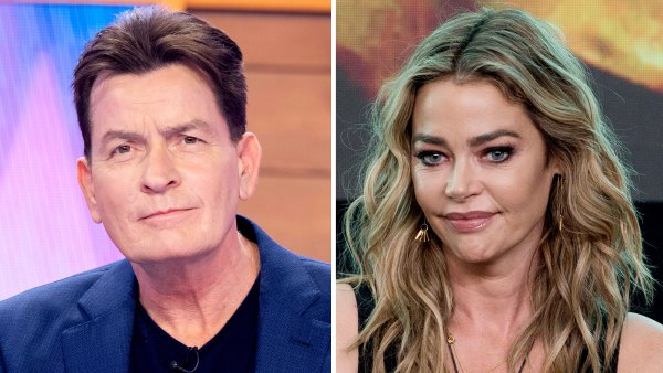 Charlie Sheen Reacts to Ex-Wife Denise Richards Leaving RHOBH
