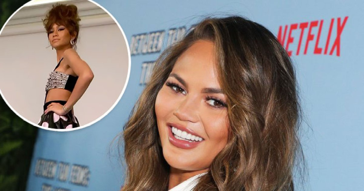 Chrissy Teigen Is Just as Obsessed With Zendaya's Style as the Rest of Us