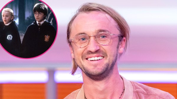 Epic Throwback Tom Felton Shares Old Pic Young Harry Potter Cast