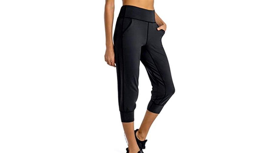 FIRST WAY Women's Buttery Soft Yoga Jogger Pants