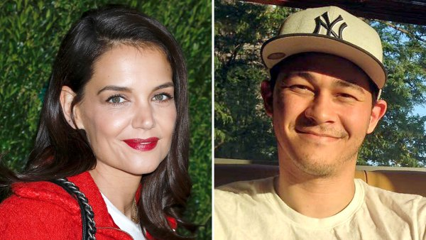 Katie Holmes New Beau Emilio Vitolo Jr Take Their PDA Tour to Central Park