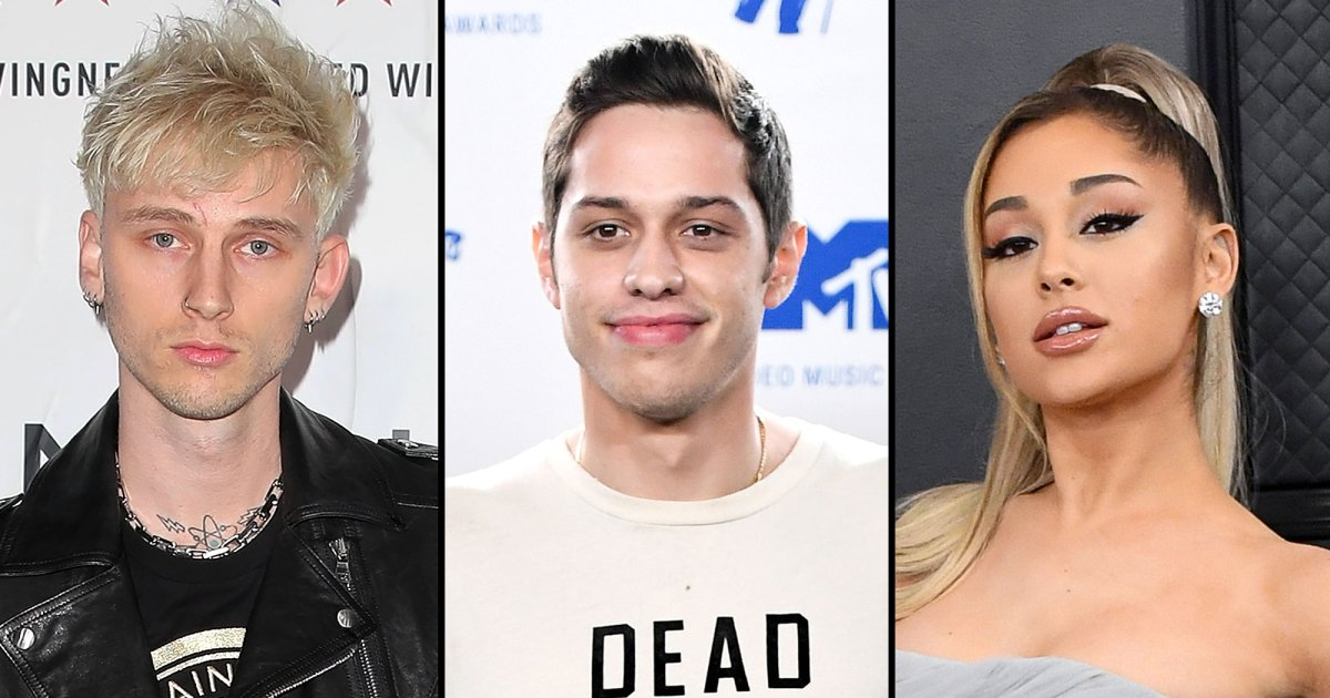 Machine Gun Kelly Recalls Pete Davidson and Ariana Grande's Engagement thumbnail