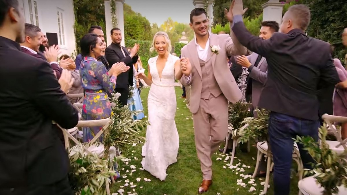 Mary Fitzgerald Defends Absolutely Real Wedding To Romain Bonnet