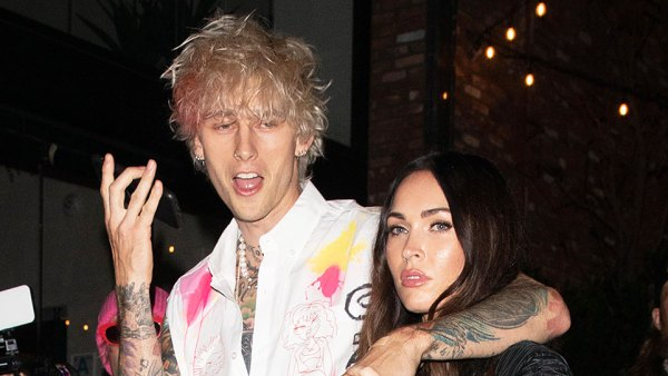 Megan Fox and Machine Gun Kelly Celebrate His Album Release