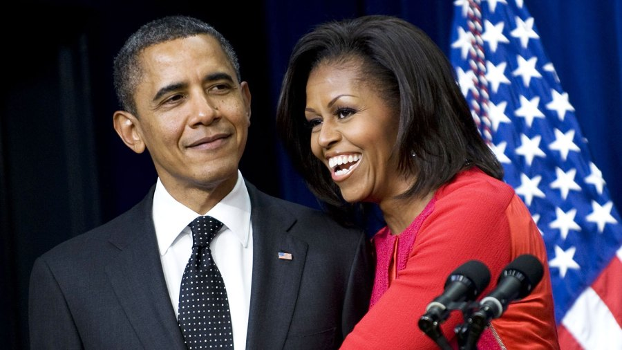 Michelle Obama Jokes She Has Wanted to Push Barack Out of the Window