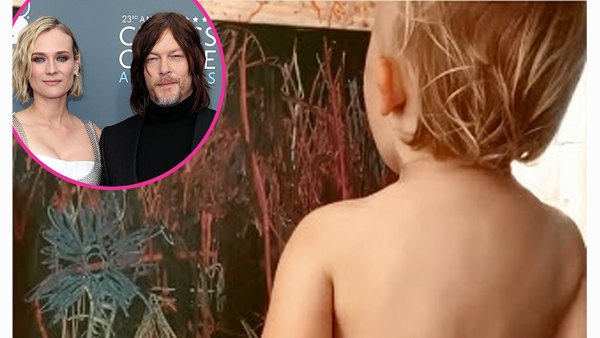 Mini Artist Norman Reedus Diane Kruger Best Moments With Their Daughter