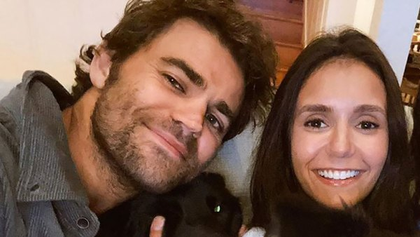Paw-fect! Nina Dobrev and Paul Wesley Reunite for Sweet 'Puppy Date'