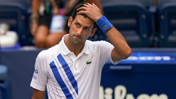 Novak Djokovic Disqualified From US Open After Hitting Linewoman With A Ball