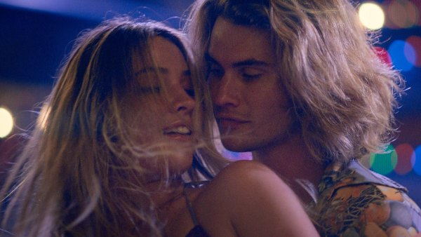Outer Banks Chase Stokes and Madelyn Cline Get Cozy in Kygo Hot Stuff Music Video 1