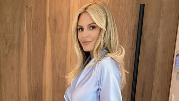 Pregnant Morgan Stewart Shows Emmys Look After 2 Hours of Glam