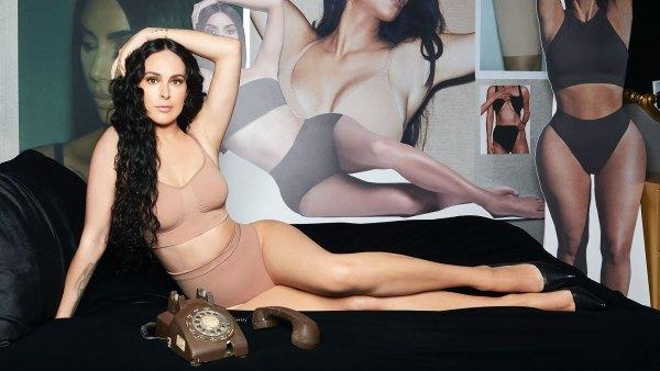 Rumer Willis Channels Kim Kardashian in the New Skims Campaign: Pics