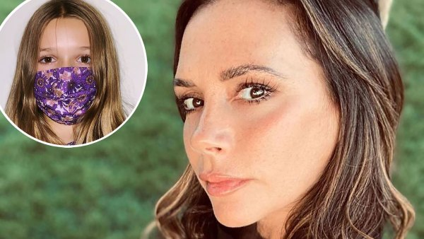 Victoria Beckham's Daughter and More Kids Wearing Face Masks Amid Pandemic