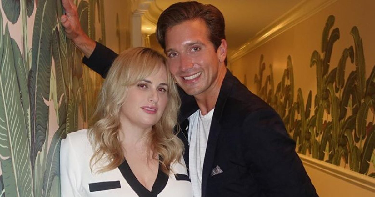 Rebel Wilson's Boyfriend Jacob Busch Says He's a 'Lucky Guy'