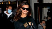 Emily Ratajkowski Is Stylishly Sexy for 1st Outing Since Announcing Her Pregnancy