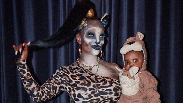 Ace Tucker and Blaze Tucker Kandi Burruss Halloween Costumes