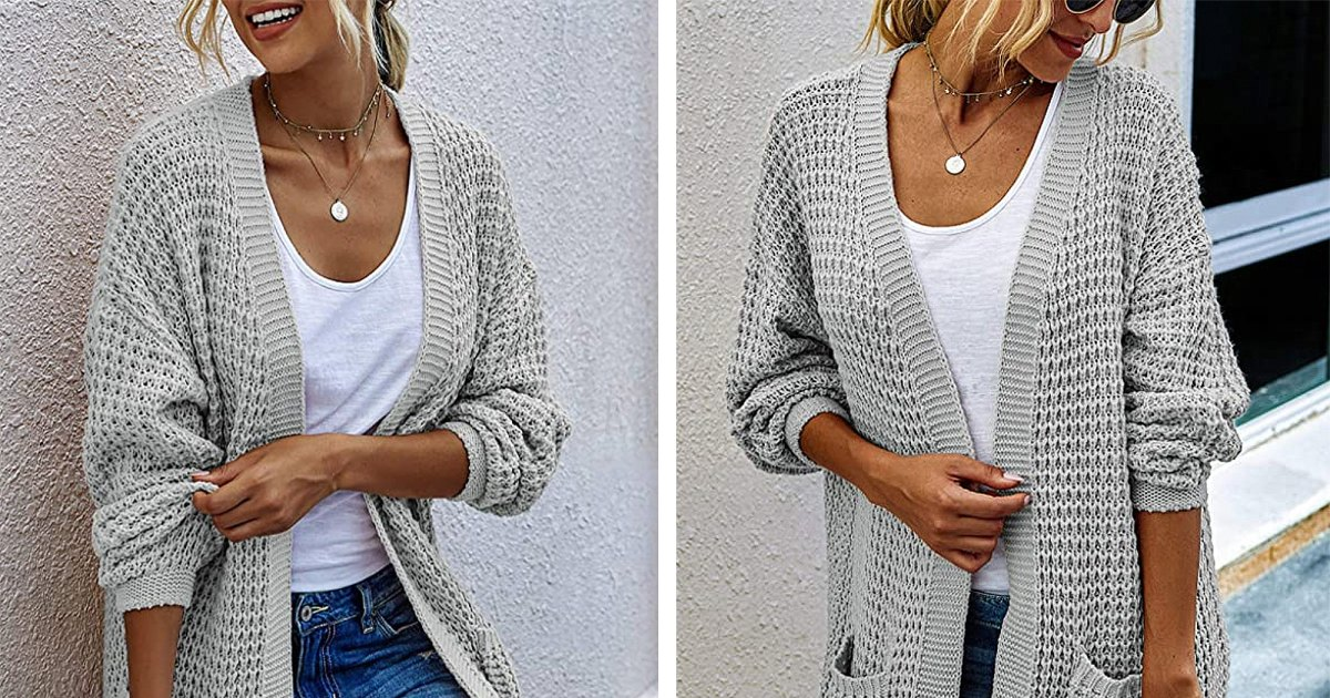 This Chunky Knit Sweater Is the Key to a Boho-Chic Fall Outfit