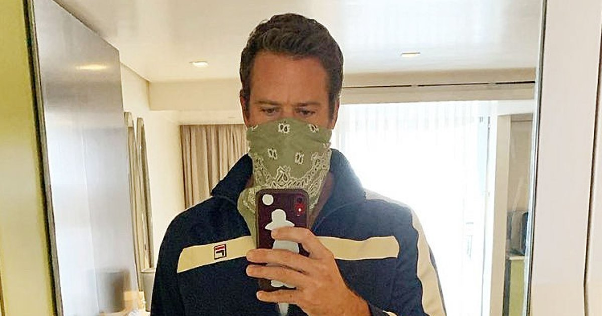 Armie Hammer Pulled His Tracksuit Out of Retirement