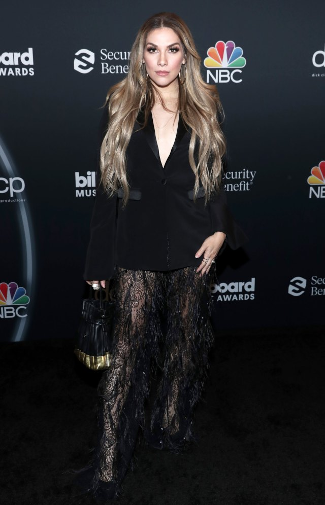 Arrivées sur le tapis rouge des Billboard Awards 2020 - Allison Holker